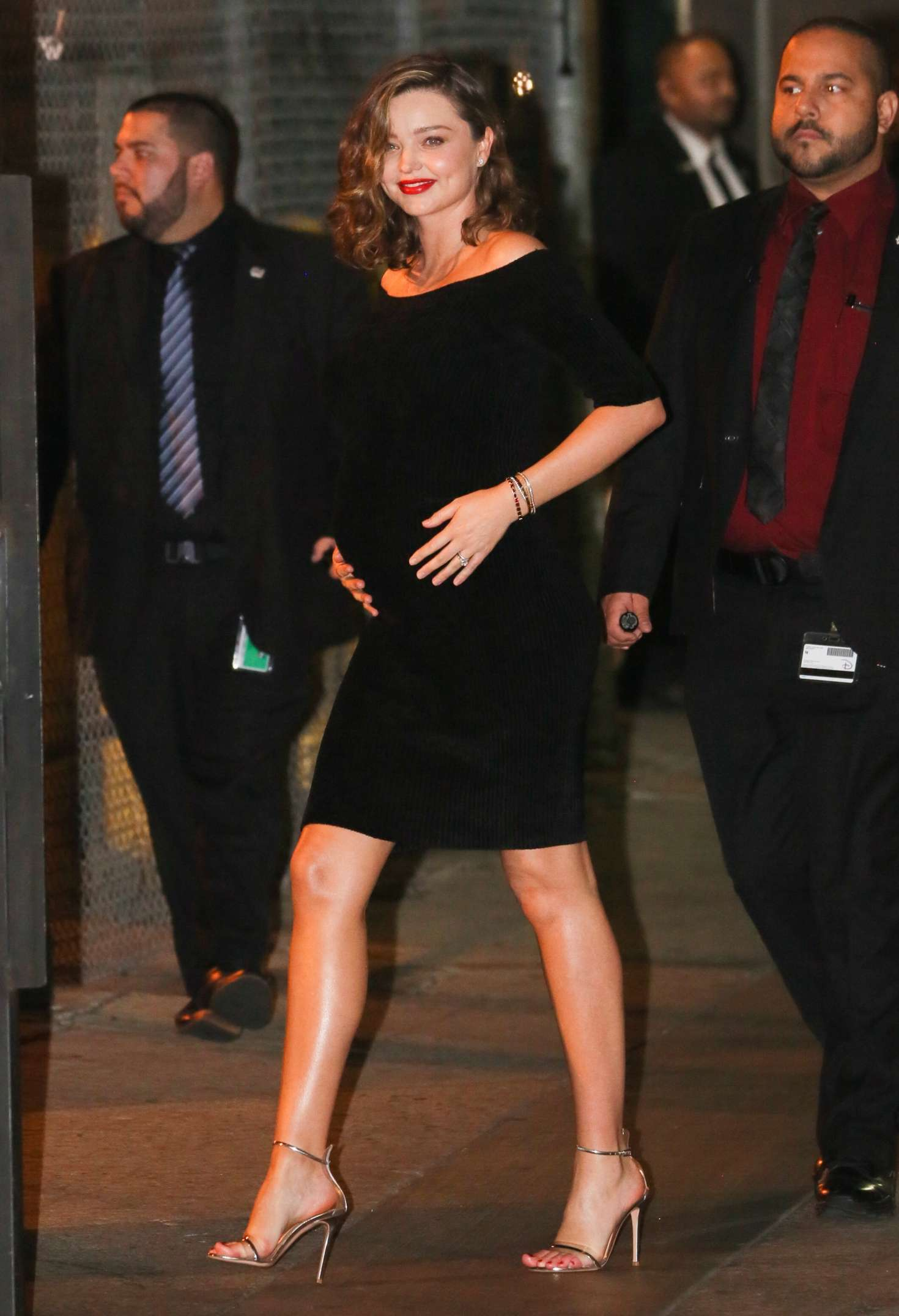 Miranda Kerr 2018 : Miranda Kerr: Leaves at Jimmy Kimmel Live -02