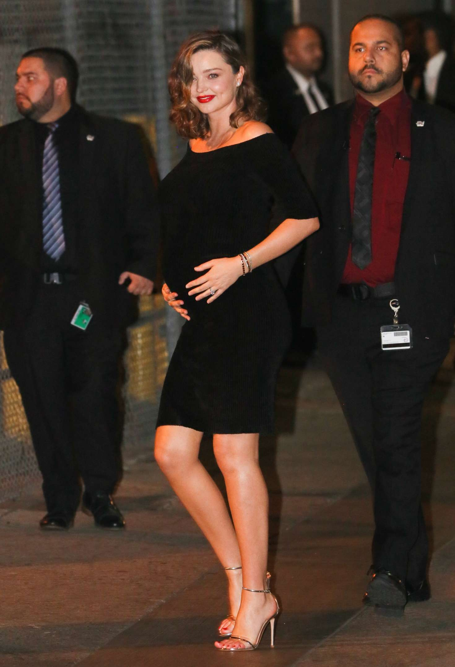 Miranda Kerr 2018 : Miranda Kerr: Leaves at Jimmy Kimmel Live -03
