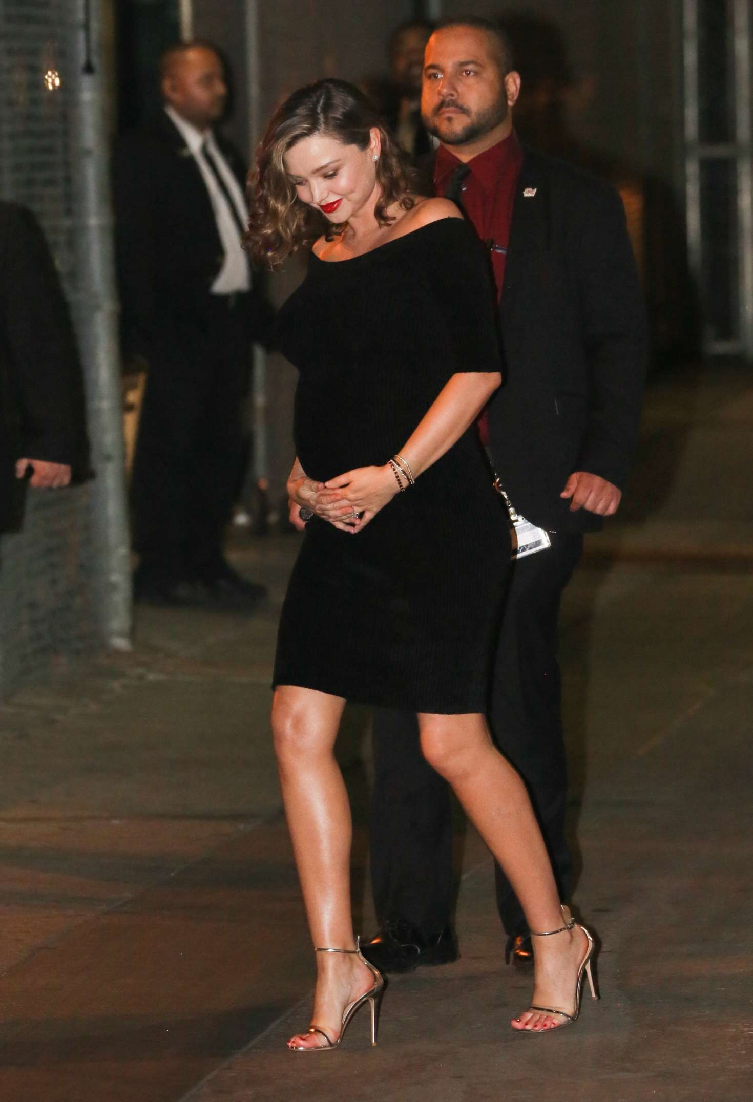 Miranda Kerr 2018 : Miranda Kerr: Leaves at Jimmy Kimmel Live -04