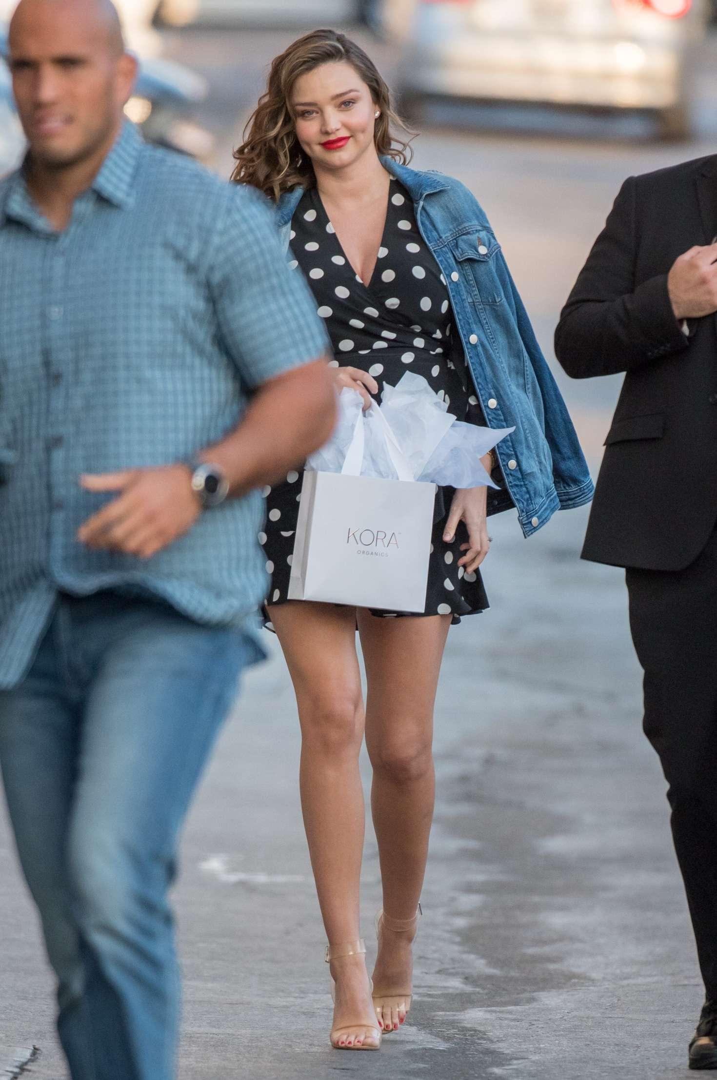 Miranda Kerr 2018 : Miranda Kerr: Leaves at Jimmy Kimmel Live -07