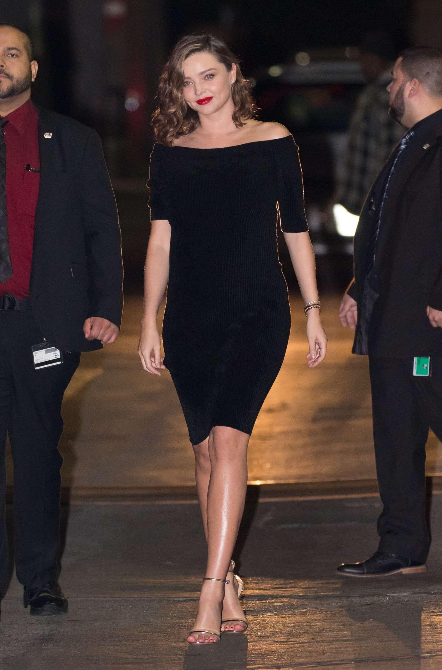 Miranda Kerr 2018 : Miranda Kerr: Leaves at Jimmy Kimmel Live -11