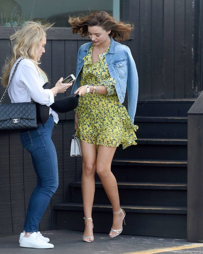 Miranda Kerr - Leggy Out in New York City