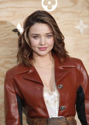 Miranda Kerr - Louis Vuitton & Jeff Koons Masters Collection Collaboration in Paris