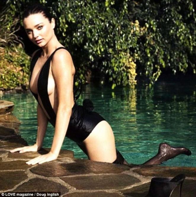 Miranda Kerr - LOVE Magazine Advent Screencaps