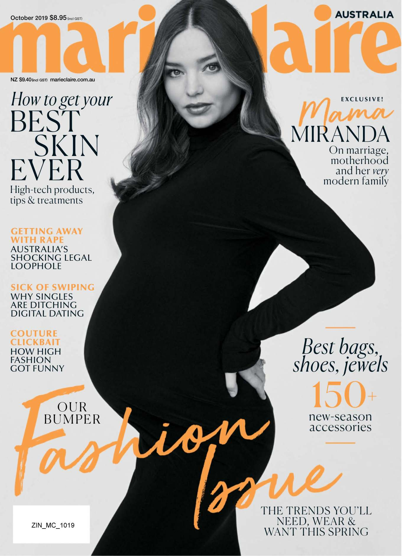 Miranda Kerr 2019 : Miranda Kerr – Marie Claire Australia 2019-05