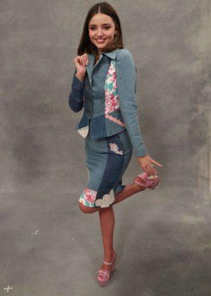 Miranda Kerr - MOSCHINO SS 2018 Resort Collection in LA