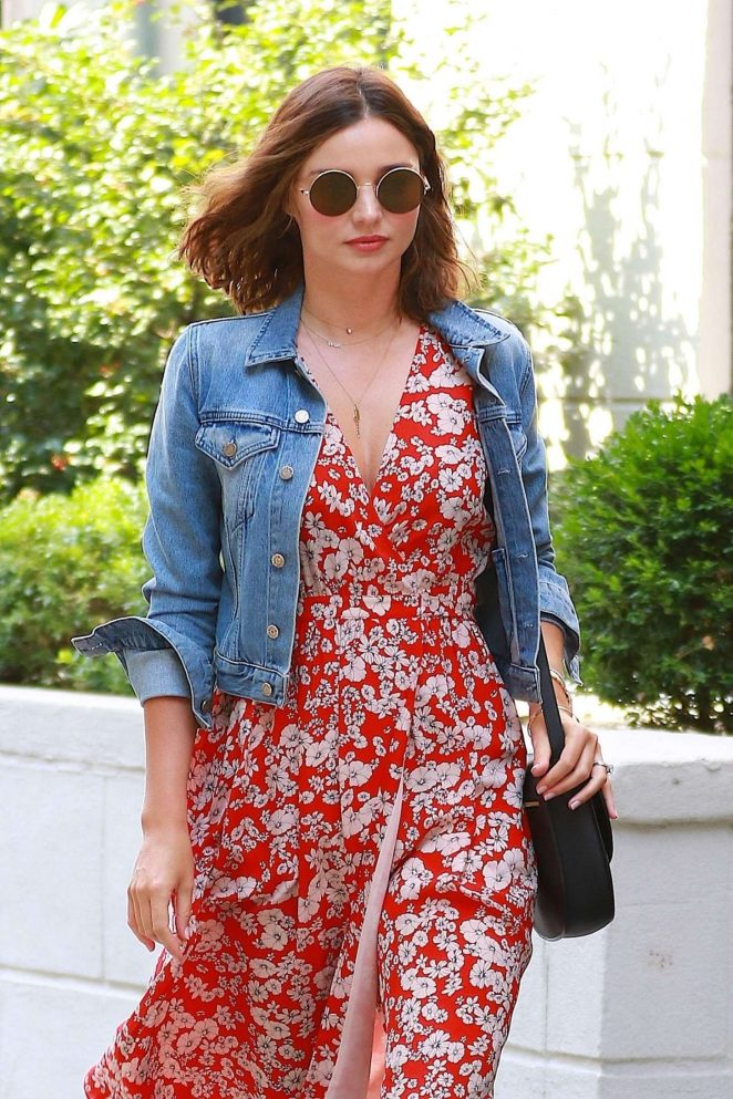 Miranda Kerr - Out and about in New York City