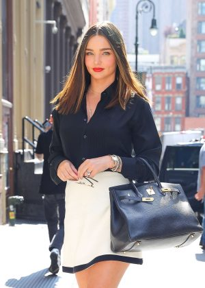 Miranda Kerr - Out and about in New York