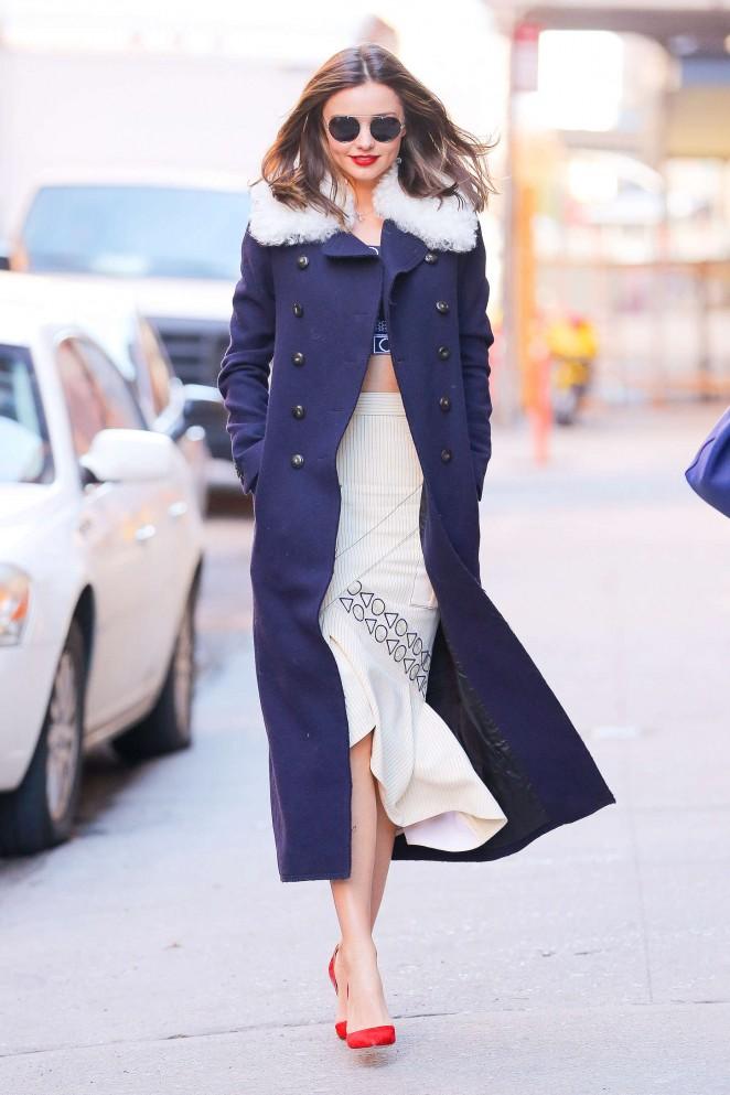 Miranda Kerr out in NYC -11