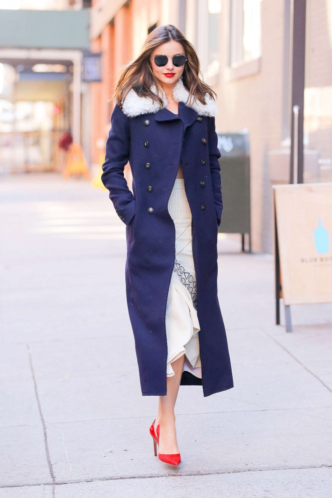 Miranda Kerr out in NYC -15