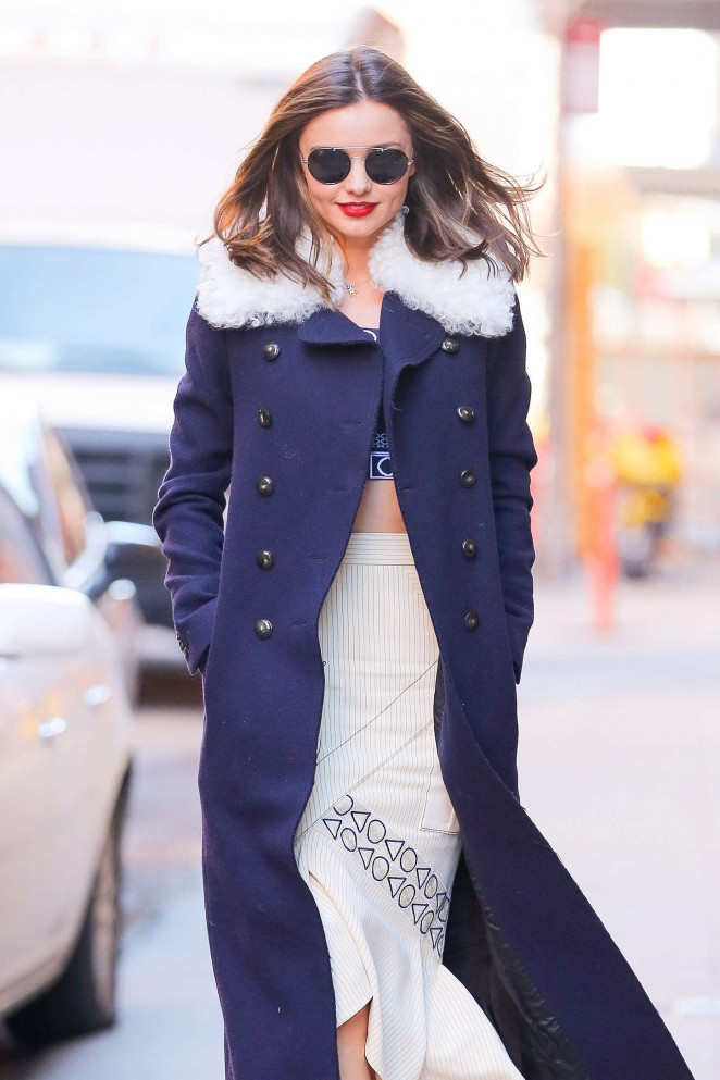 Miranda Kerr out in NYC