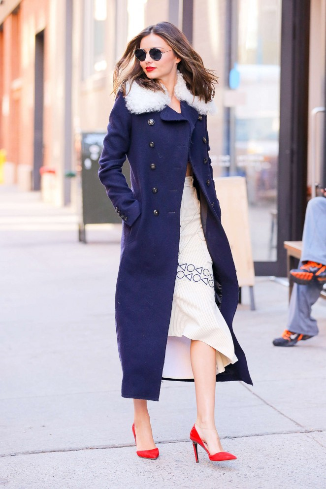 Miranda Kerr out in NYC -22
