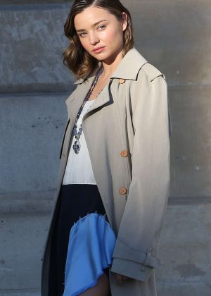 Miranda Kerr - Photoshoot for Louis Vuitton in Paris