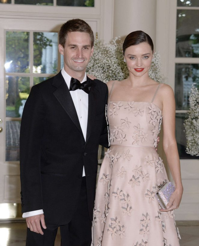 Miranda Kerr – President Obama Hosts Nordic Leaders For State Dinner in Washington