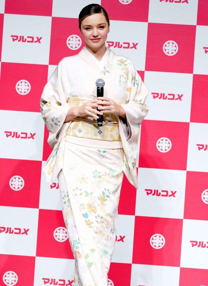 Miranda Kerr: Promotes Marukome Co. Ltd Miso Products -01