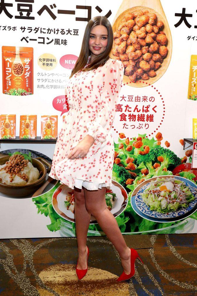 Miranda Kerr: Promotes Marukome Co. Ltd Miso Products -02