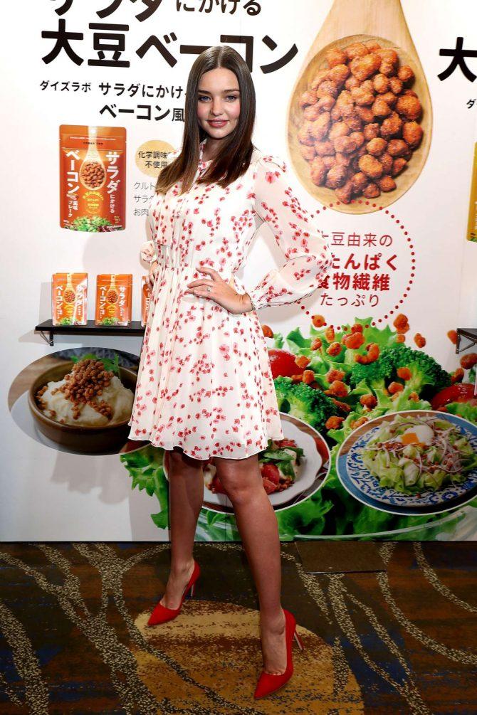 Miranda Kerr: Promotes Marukome Co. Ltd Miso Products -03