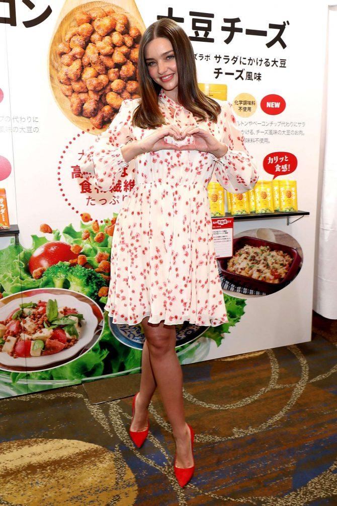 Miranda Kerr: Promotes Marukome Co. Ltd Miso Products -05