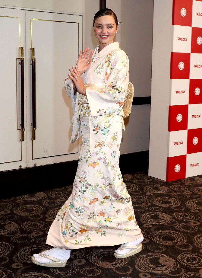 Miranda Kerr: Promotes Marukome Co. Ltd Miso Products -06