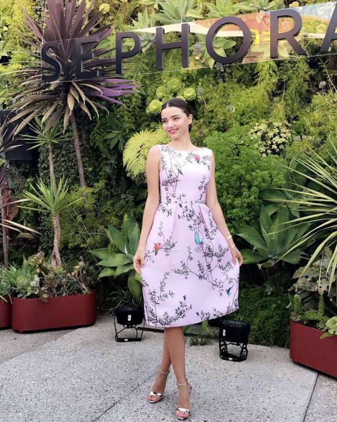 Miranda Kerr - Promoting Kora Organics at Sephora event inTokyo