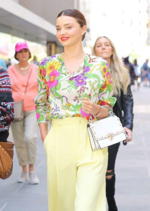 Miranda Kerr - Seen leaving the Today show in New York City