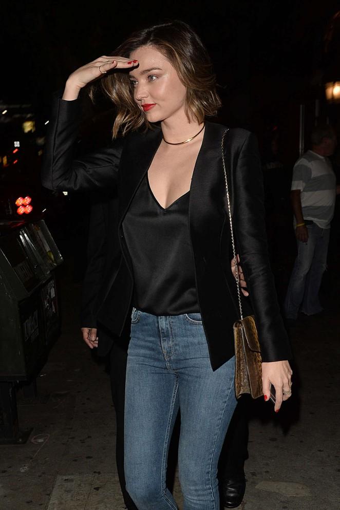 Miranda Kerr – Snoop Dogg's Vogue Dinner Party at El Compadre Restaurant in Hollywood