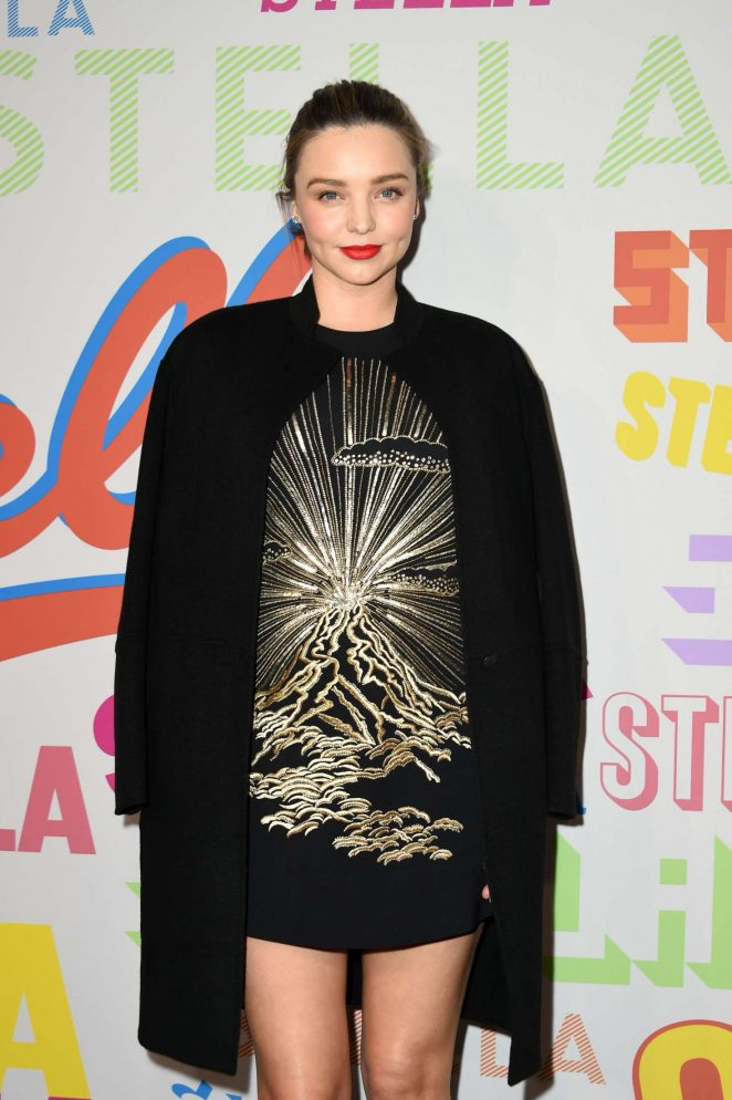 Miranda Kerr - Stella McCartney's Autumn 2018 Collection Launch in LA