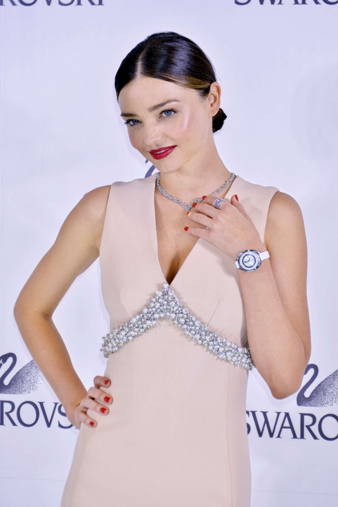 Miranda Kerr - Swarovski Jewelry Collection Designed With Miranda Kerr Press Conference in Tokyo