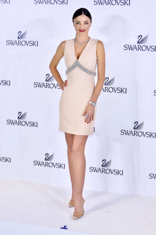 Miranda Kerr: Swarovski Jewelry Collection Designed With ... Miranda Kerr Collection
