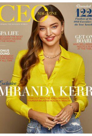 Miranda Kerr - The CEO Australia and New Zealand Magazine (October 2021)