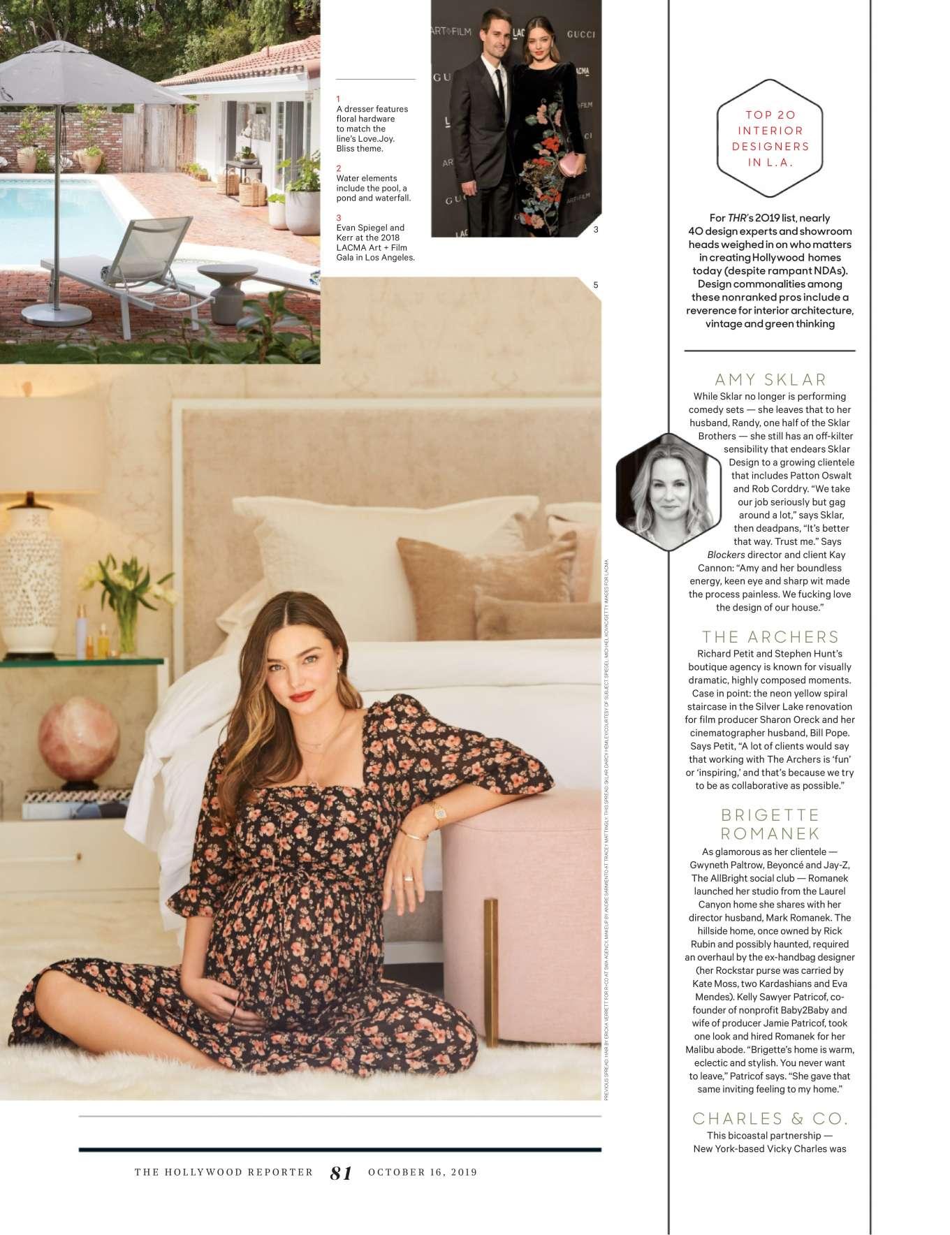 Miranda Kerr 2019 : Miranda Kerr – The Hollywood Reporter 2019-03