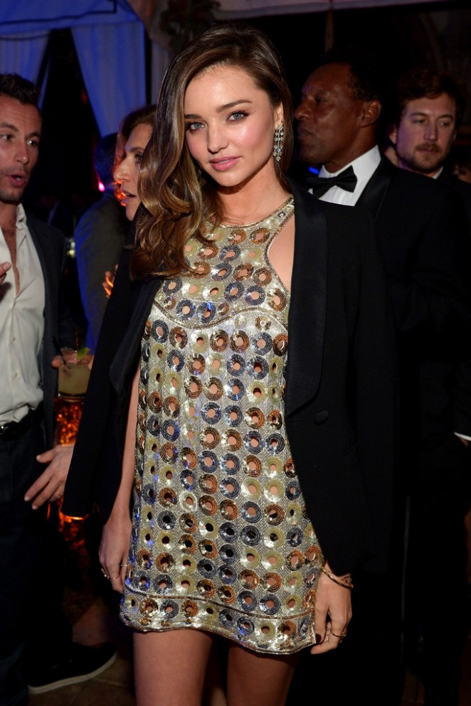 Miranda Kerr - Warner Music Group Grammy After Party in LA