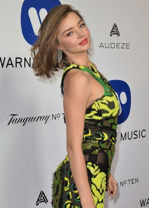 Miranda Kerr: Warner Music Group Hosts Annual Grammy 2016 Celebration -01