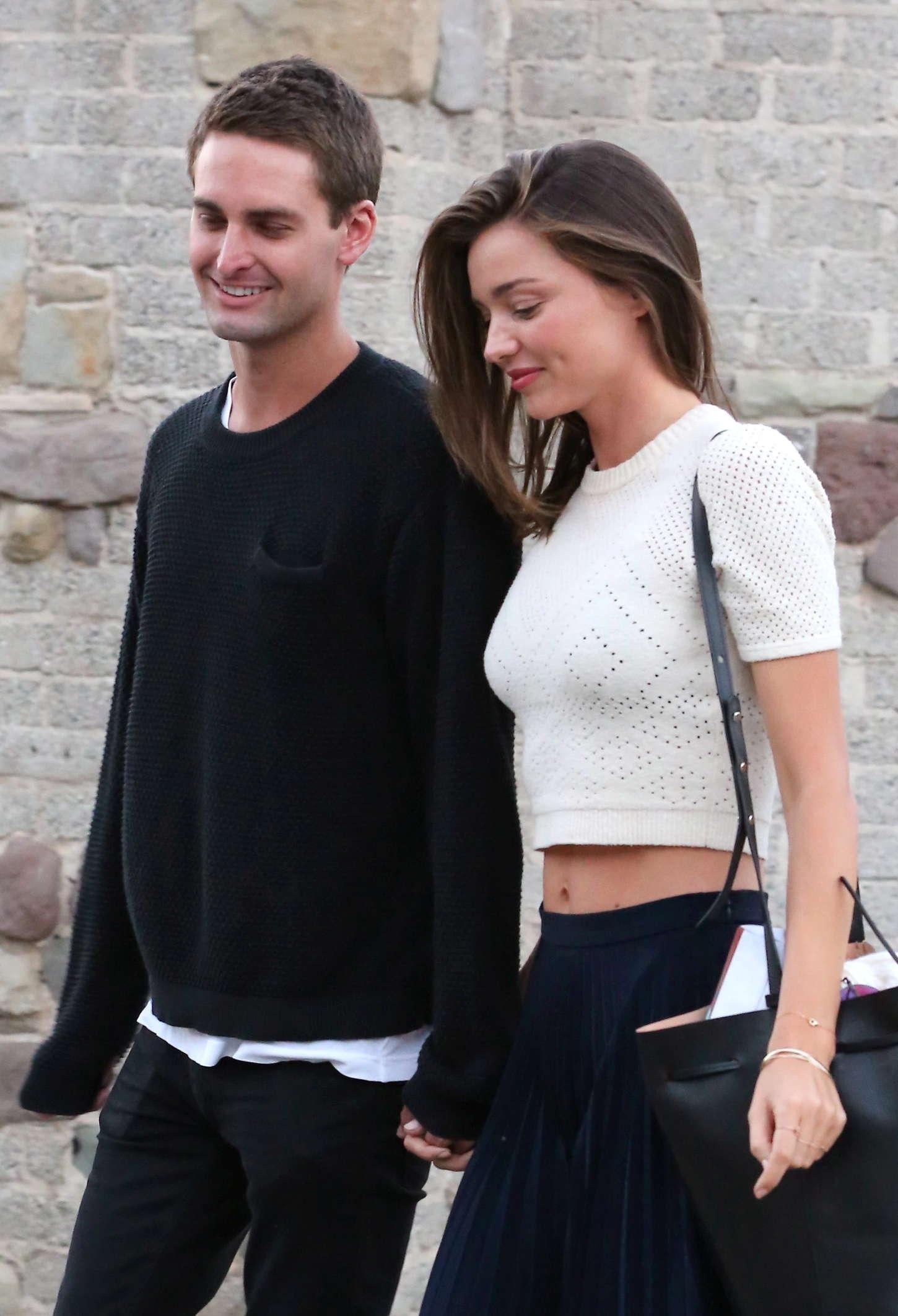 Miranda kerr with evan spiegel out in malibu - Evan spiegel miranda kerr ...