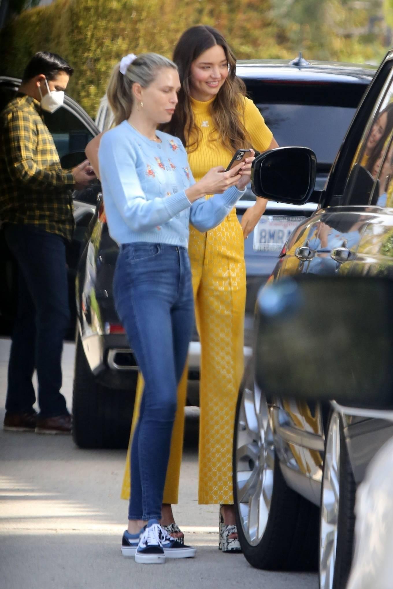 Miranda Kerr 2021 : Miranda Kerr – With Kate Hudson and Sara Foster – KORA Organics products presentation in Los Angeles-01