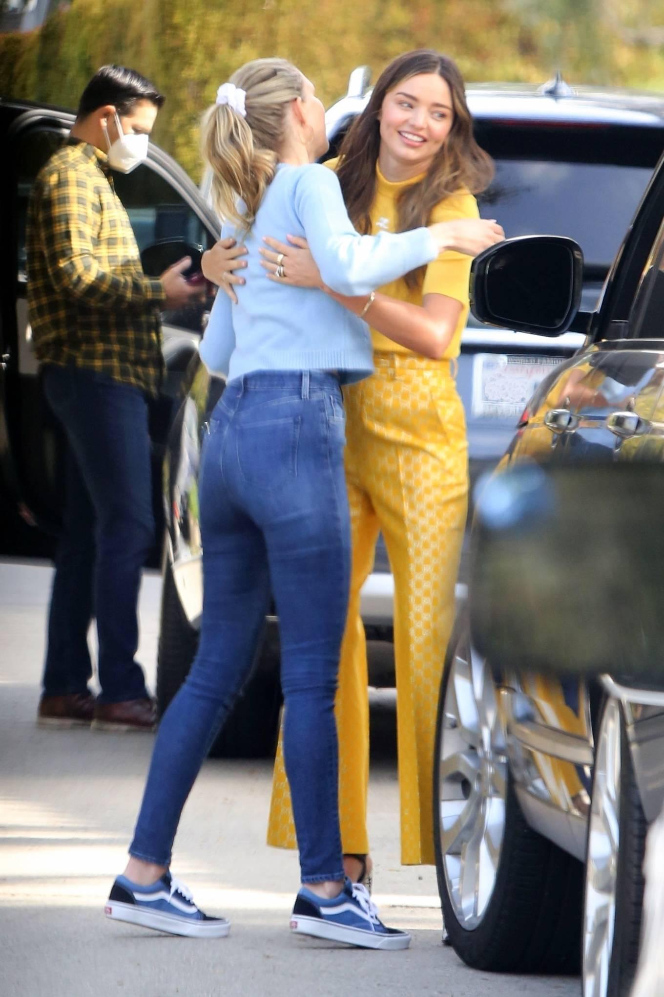 Miranda Kerr 2021 : Miranda Kerr – With Kate Hudson and Sara Foster – KORA Organics products presentation in Los Angeles-09