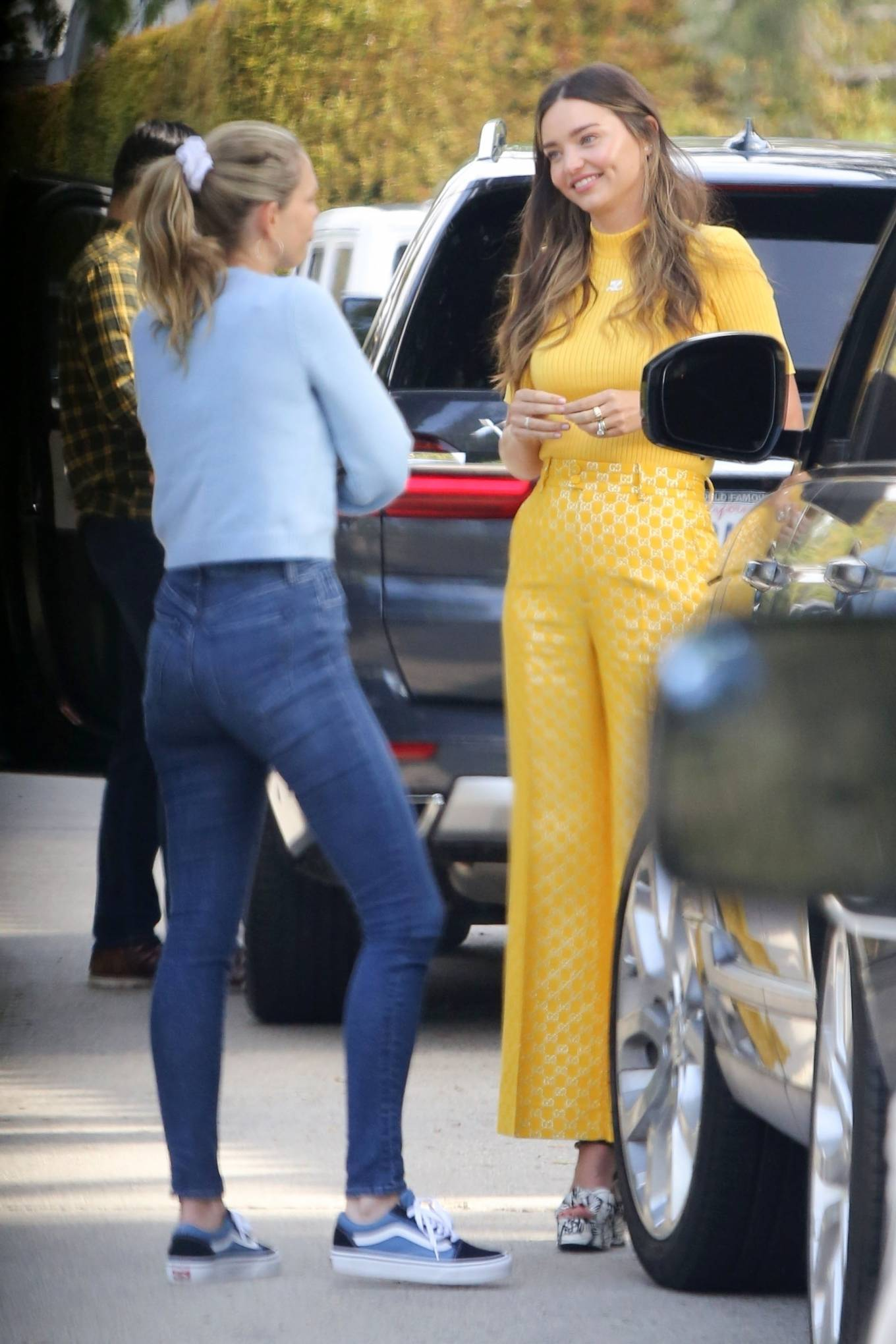 Miranda Kerr 2021 : Miranda Kerr – With Kate Hudson and Sara Foster – KORA Organics products presentation in Los Angeles-10