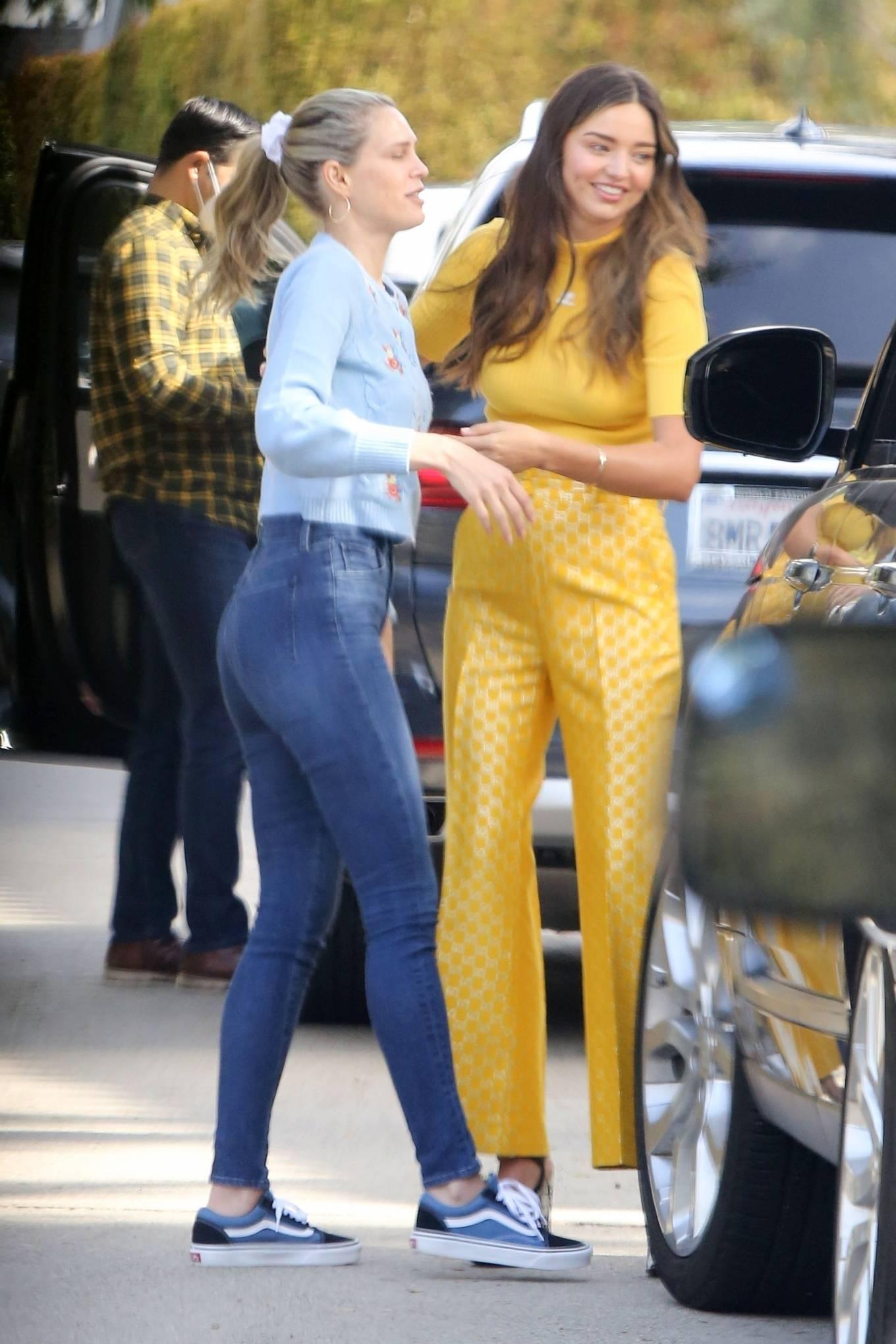 Miranda Kerr 2021 : Miranda Kerr – With Kate Hudson and Sara Foster – KORA Organics products presentation in Los Angeles-14