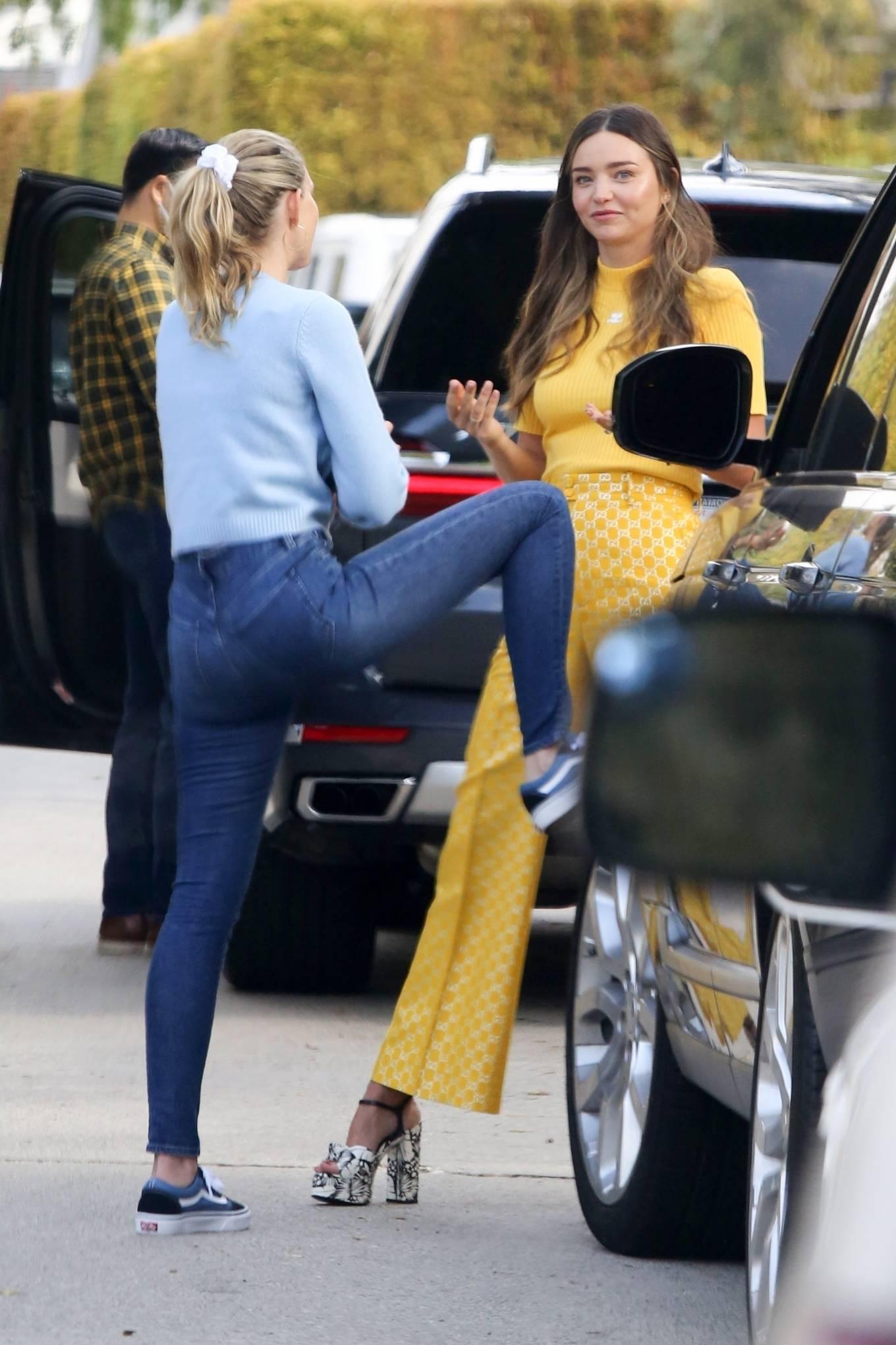 Miranda Kerr 2021 : Miranda Kerr – With Kate Hudson and Sara Foster – KORA Organics products presentation in Los Angeles-15