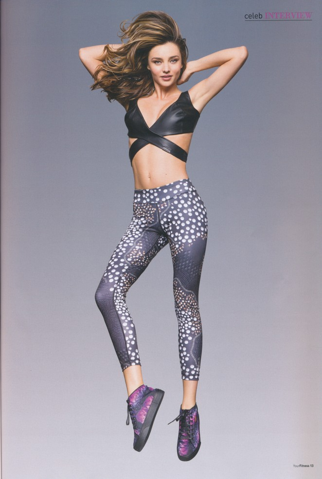 Miranda Kerr: Your Fitness Magazine 2015 -05