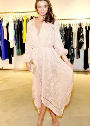 Miranda Kerr - Zimmermann Melrose Place Flagship Store Opening in LA