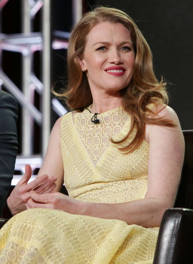 Mireille Enos - 'The Catch' Panel at TCA Winter Press Tour 2017 in Pasadena