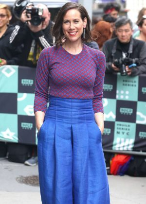 Miriam Shor - Promotes TV series 'Younger' at AOL Build Series in NY