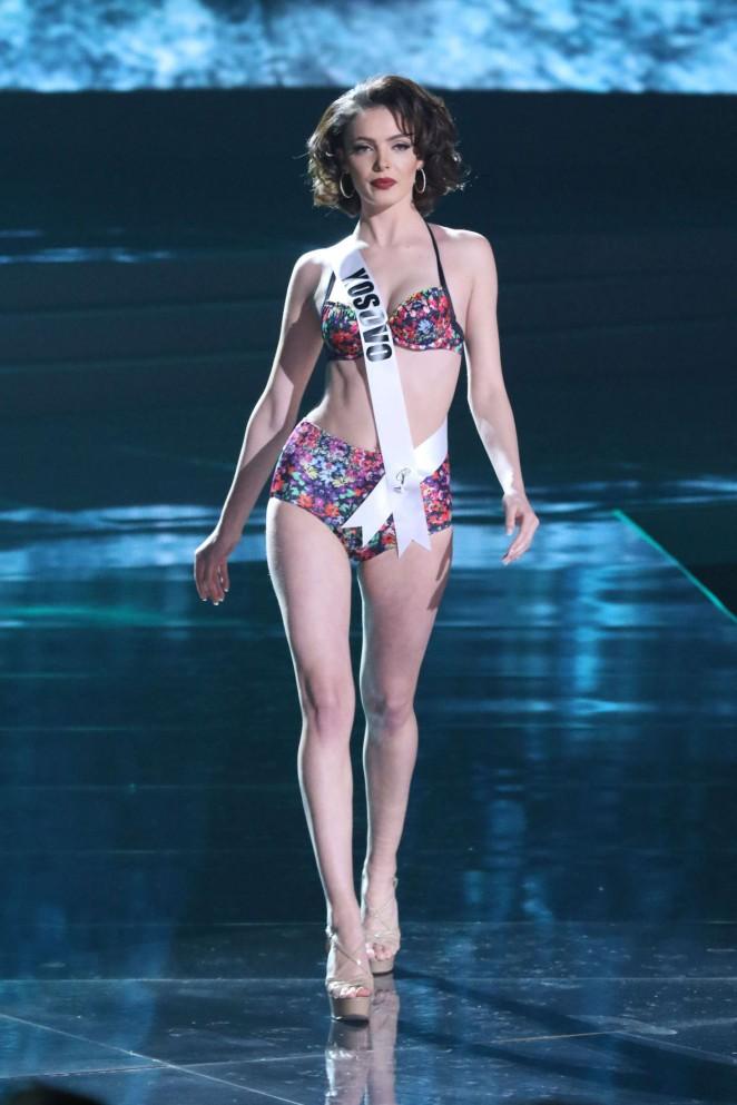 Mirjeta Shala - Miss Universe 2015 Preliminary Round in Las Vegas