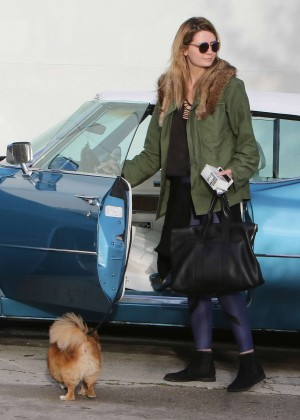 Mischa Barton - Arrives at DWTS Studio in Hollywood