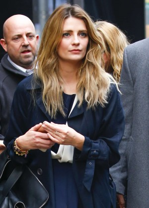 Mischa Barton - Arrives at Good Morning America in New York