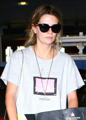 Mischa Barton Arriving at LAX Airport in Los Angeles