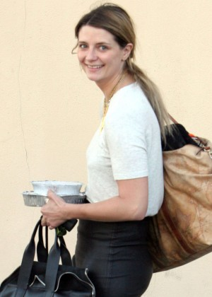 Mischa Barton at DWTS Rehearsals in Hollywood