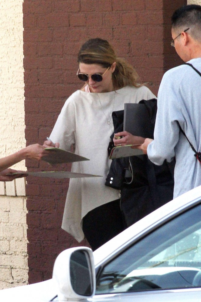 Mischa Barton at DWTS Studio in Hollywood