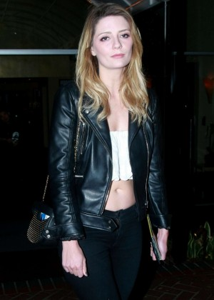 Mischa Barton at Sunset Marquis in West Hollywood